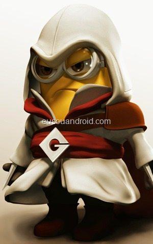 0 - Assassins Creed Minion Android Wallpaper