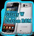 Galaxy W i8150 ROM EHNDROIX