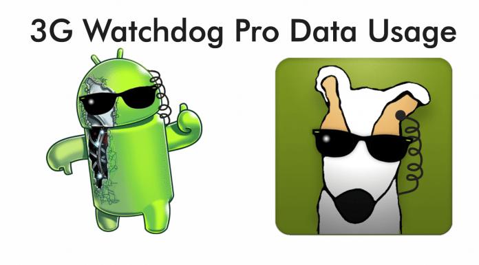 3G Watchdog Pro Data Usage APK
