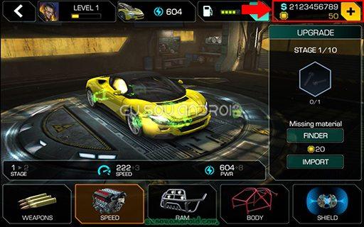 Cyberline Racing v1.0.10517 MOD 01