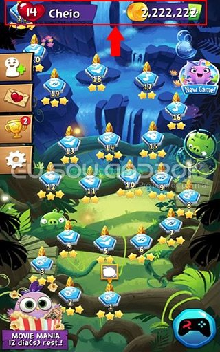 Angry Birds POP Bubble Shooter MOD 01 v2.16.6