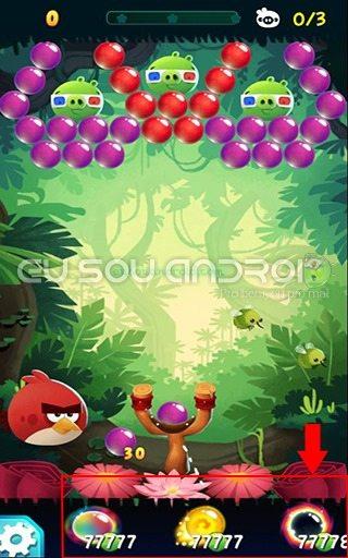 Angry Birds POP Bubble Shooter MOD 02 v2.16.6