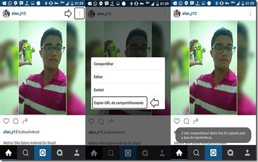 Como baixar fotos e videos do Instagram Screen