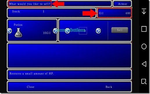 Final Fantasy II MOD 01 v5.00