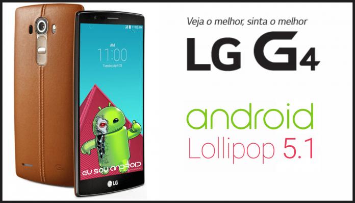 LG G4 H815P ROM Lollipop 5.1 Original