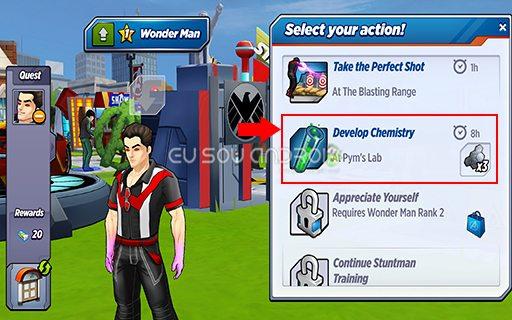 MARVEL Avengers Academy MOD 02 v1.0.51