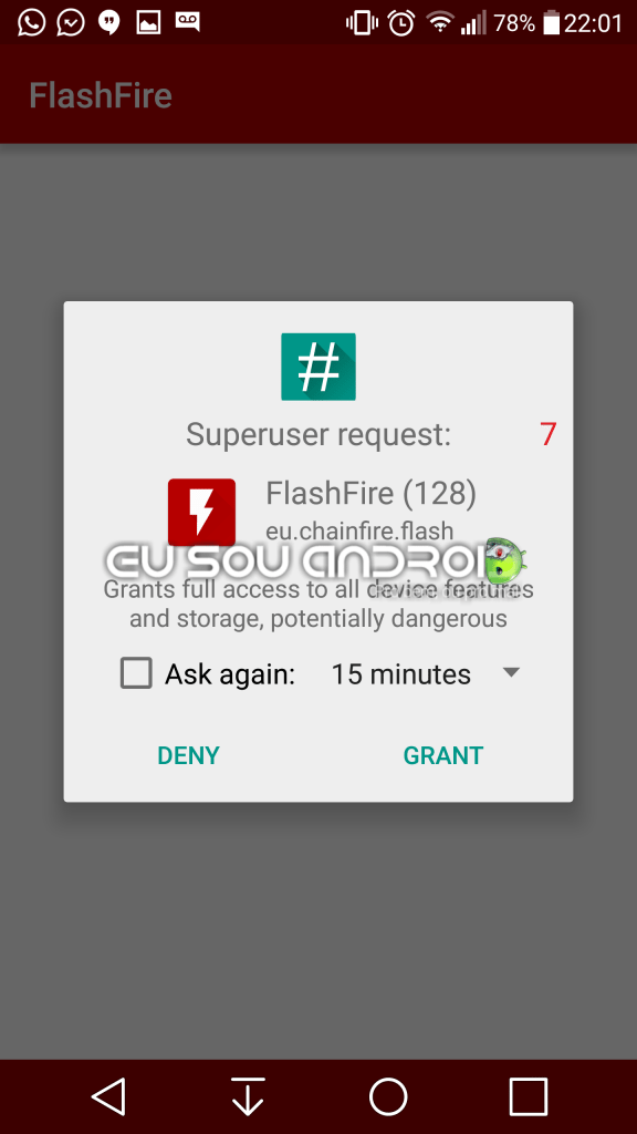 Flash Fire LG G4