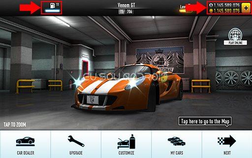 CSR Racing v3.8.0 MOD 01