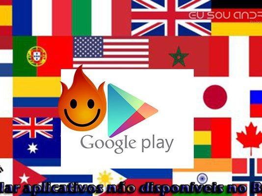 Como baixar Aplicativos e Jogos não disponíveis no Brasil