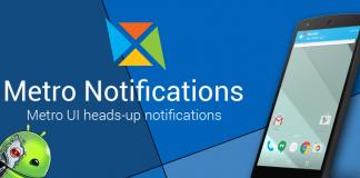 Metro Notifications APK