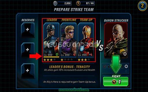 Marvel Avengers Alliance 2 v1.3.2 MOD 01