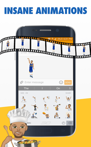 StephMoji by Steph Curry_Eusouandroid (4)