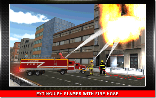 911 Fire Rescue Truck 3D Sim 02