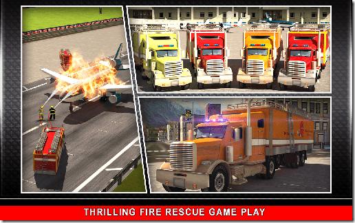 911 Fire Rescue Truck 3D Sim 05