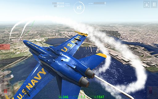 Blue Angels Aerobatic SIM 01
