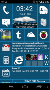 Home 8+ like Windows8 Launcher