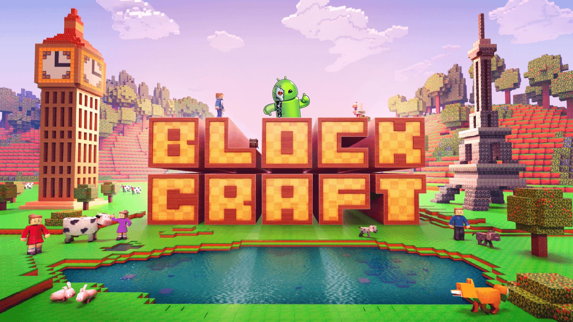 Block craft 3d simulador free apk mod eu sou android for Block craft play for free