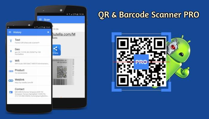 qr barcode scanner pro apk eu sou android. Black Bedroom Furniture Sets. Home Design Ideas