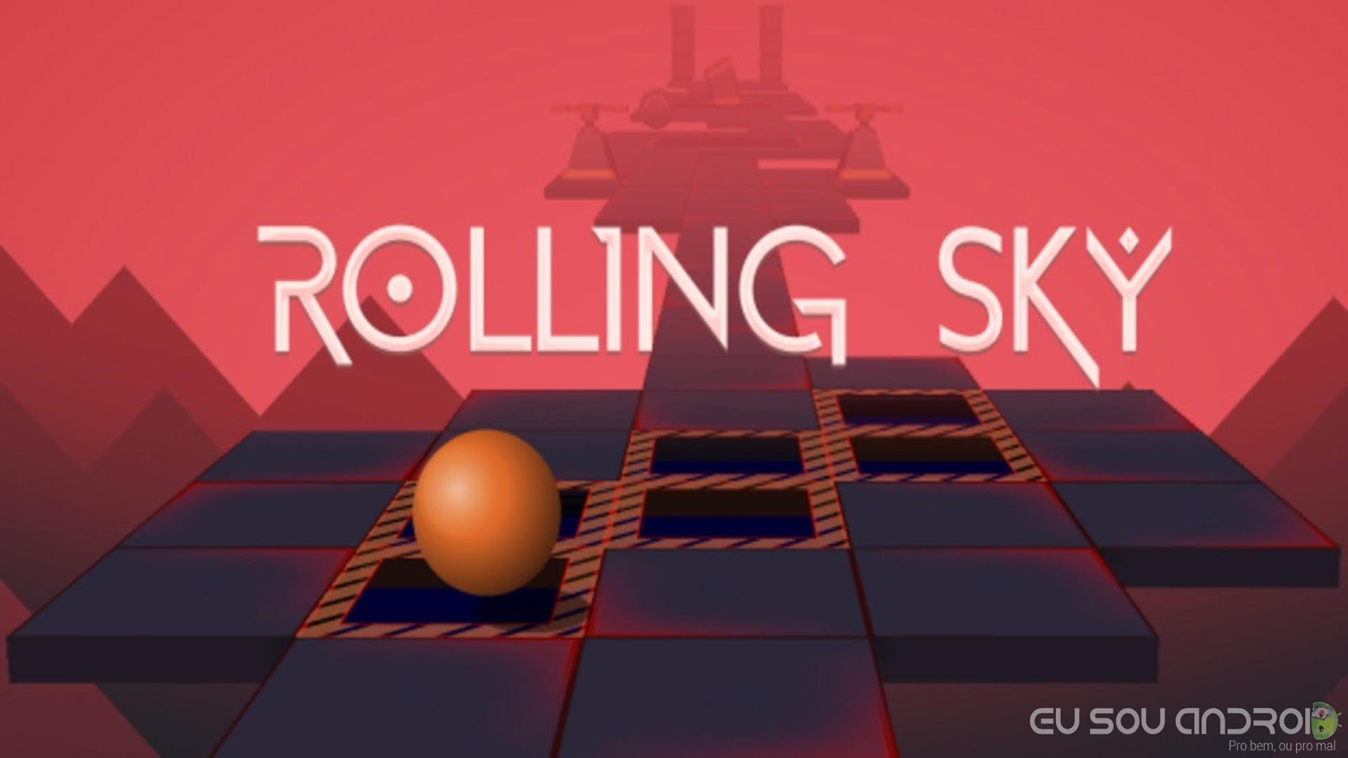 Rolling Sky MOD APK - Eu Sou Android Rolling Sky