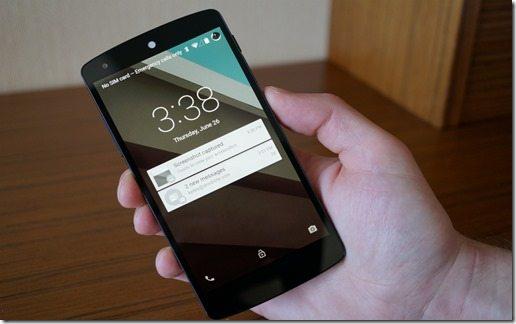 Android-L-Lockscreen