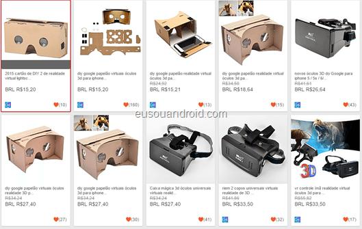 Oculos VR preço baixo eusouandroid