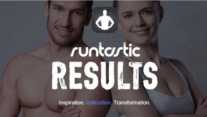 Runtastic Results - Treinos