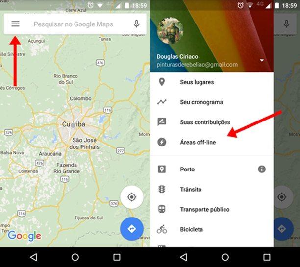 Salvar Mapas no Google Maps 5