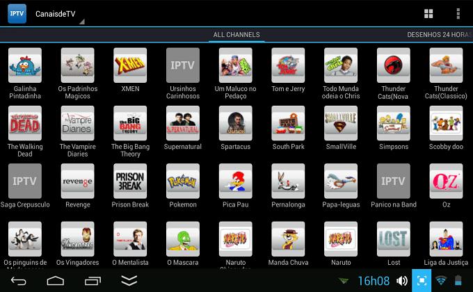 Lista - Nova Lista de canais em iptv   para o seu aparelho  HD. Data:16/03/2015. Screenshot_2014-10-07-16-08-44