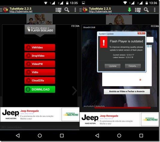 como baixar filmes no celular e tablet Android 3