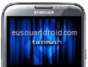 Galaxy Note 2 N7100 ClockWorkMod Recovery TeamWin Project logo