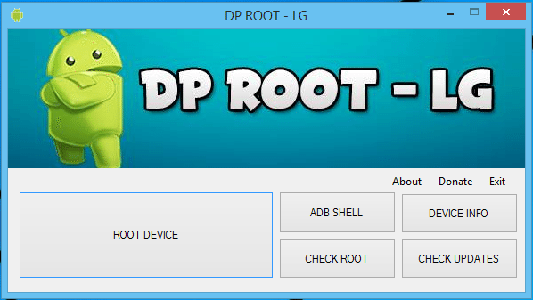 Fazer root na maioria dos dispositivos lg tutorial for Terr root word